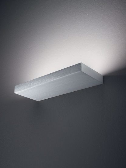 REGOLO LINEA LIGHT APPLIQUE LED 24W METALLO DESIGN MENSOLA