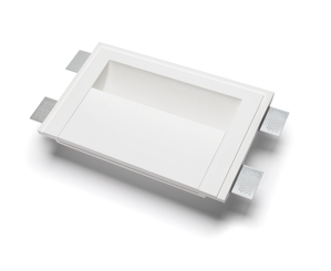 APPLIQUE IN GESSO DA INCASSO LED 21,5W 27000K A MURO