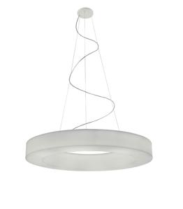 GRANDE LAMPADARIO DESIGN MODERNO LED 98W 3000K 115CM DIMMERABILE