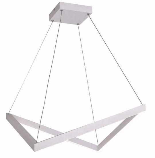 LAMPADARIO ORIGAMI DESIGN MODERNO LED 40W PER SOGGIORNO