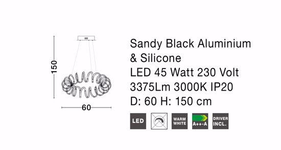LAMPADARIO SALOTTO MODERNO DESIGN METALLO ORO LED 45W 3000K