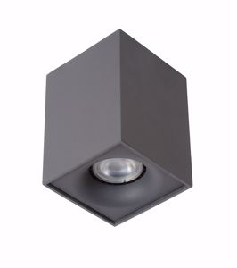 FARETTO CUBO SOFFITTO GU10 LED 4.5W 3000K DIMMERABILE COLORE GRAFITE