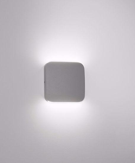 APPLIQUE DA ESTERNO LED 6W 3000K IP54 GRIGIO ANTRACITE MODERNA