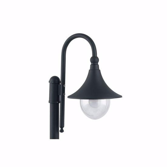 LAMPIONE PER ESTERNO GIARDINO ANTRACITE CLASSICO IP44 ALLUMINIO LANTERNA