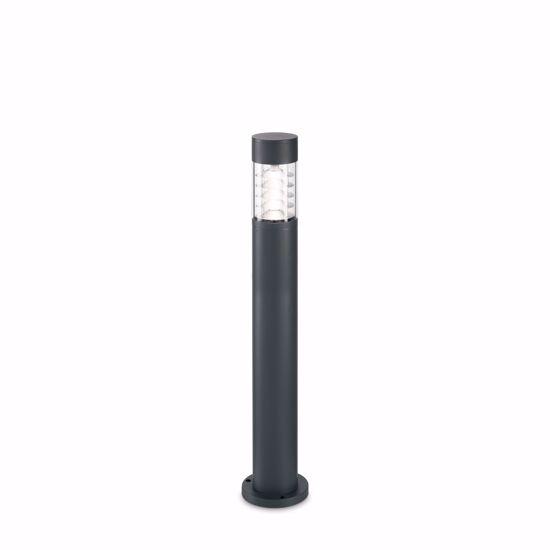 LAMPIONE PER ESTERNO DESIGN MODERNO H80 ANTRACITE IP54 IMPERMEABILE