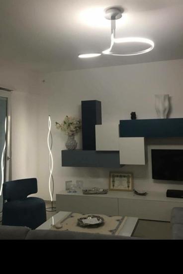 LAMPADARIO DESIGN MODERNO LED 40W 3000K PER SALOTTO