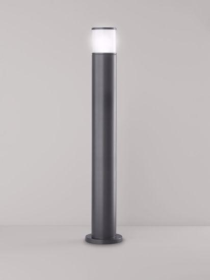 LAMPIONE PER ESTERNO GIARDINO IMPERMEABILE GIARDINO ANTRACITE H90CM MODERNO