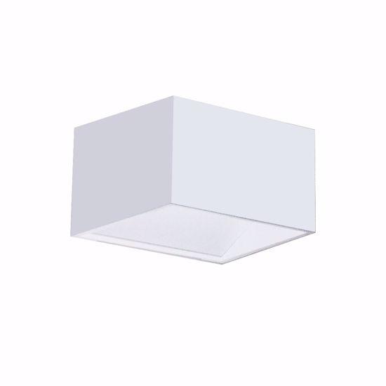 APPLIQUE CUBO LED 6W 3000K DESIGN MODERNA BIANCO