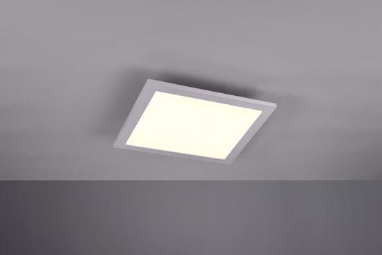 PANNELLO LED QUADRATO 29X29 GRIGIO 15W DIMMERABILE RGB BLUETOOTH