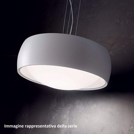 LAMPADARIO PER CUCINA DESIGN COMFORT SP1 GRIGIO IDEAL LUX