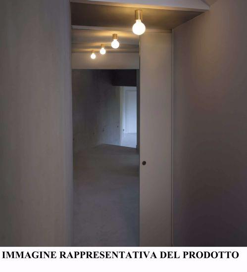 APPLIQUE NICKEL OPACO DA PARETE SOFFITTO MODERNA PROMOZIONE FINE SCORTE