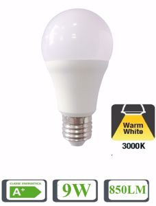 LIFE LAMPADINA LED E27 9W 3000K GOCCIA 850LM BIANCA 39.920347C