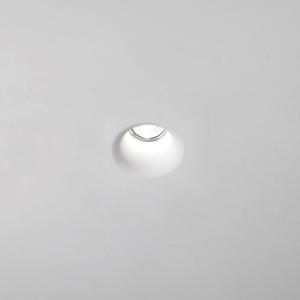 FARETTO IN GESSO DA INCASSO ROTONDO GU10 LED