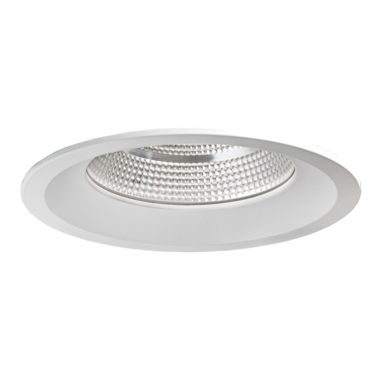 FARETTO DA INCASSO PER CONTROSOFFITTO 15W LED 4000K 13CM