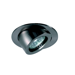 FARETTO DA INCASSO LED PER CONTROSOFFITTO NICKEL OPACO ORIENTABILE