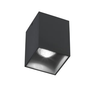 FARETTO DA SOFFITTO LED GU10 NERO