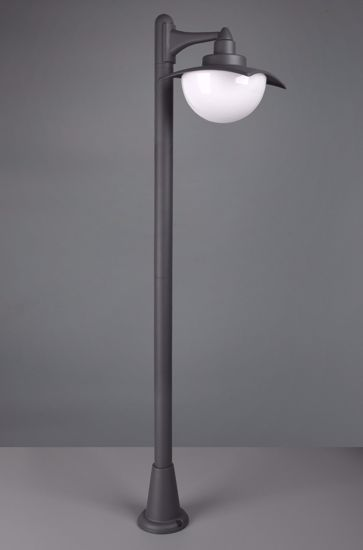 LAMPIONE MODERNO PER GIARDINO DA ESTERNI ANTRACITE LANTERNA IP44