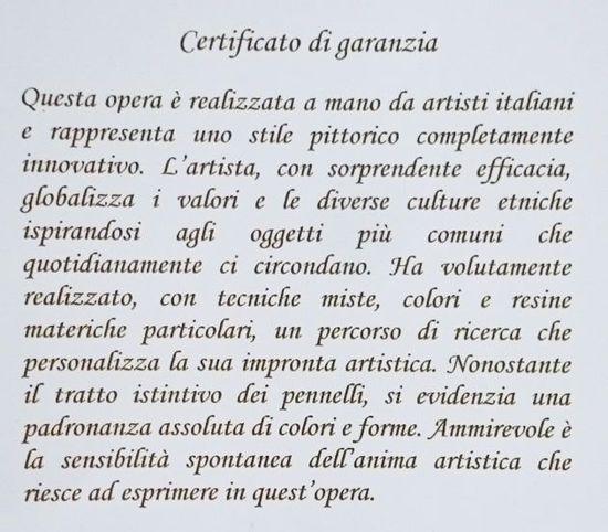 QUADRETTO FIORE DECORATO GLITTER ARGENTO STAMPA SU TELA 35X35
