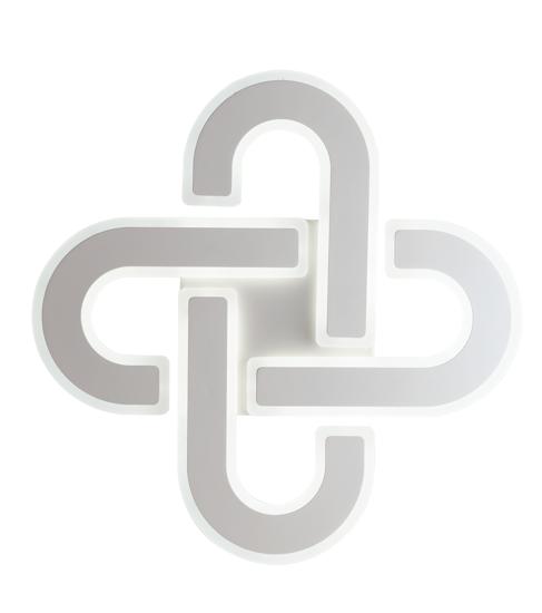 PLAFONIERA LED 66W TRICOLOR PER SOGGIORNO DIMMERABILE CON TELCOMANDO 50CM