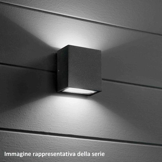 PICCOLA APPLIQUE DA ESTERNO LED 3000K BIANCA IP65 IMPERMEABILE FREDDA