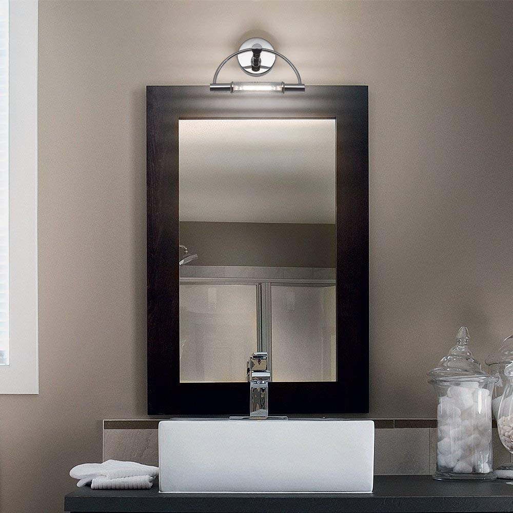 Specchio Luce Bagno.Applique Da Bagno