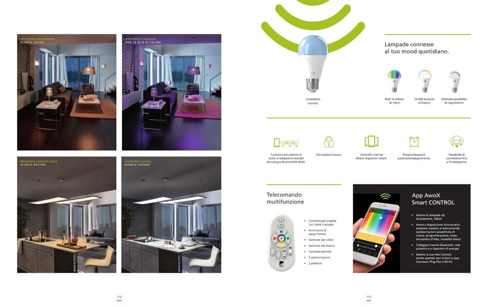 panelli LED Smart technology